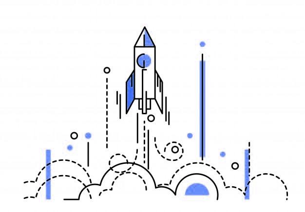 growth rocket blue