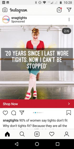 Instagram Carousel Reklamları 2