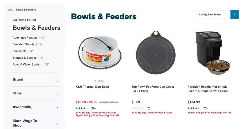 Petsmart-ürünler