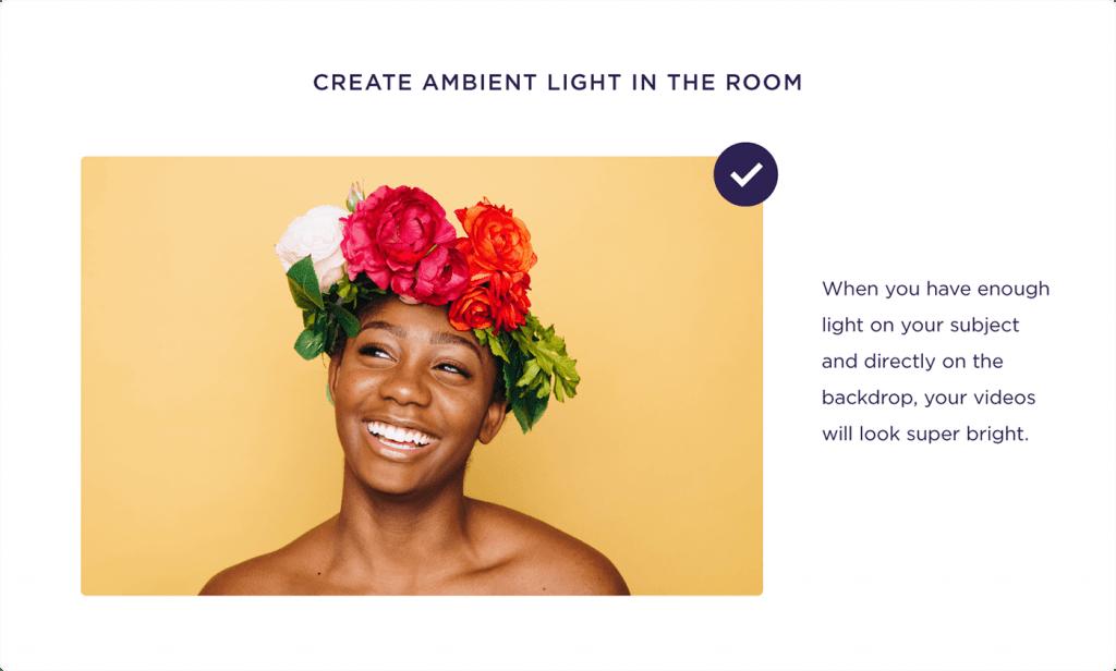 Doğru ışık kullanımı