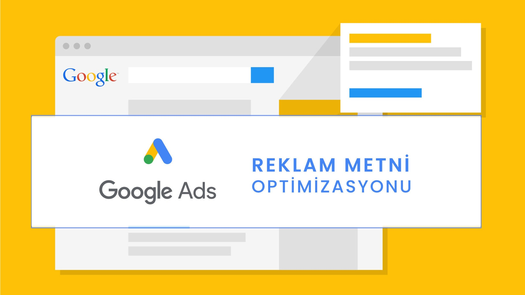 Google Adwords Reklam Metni Optimizasyonu