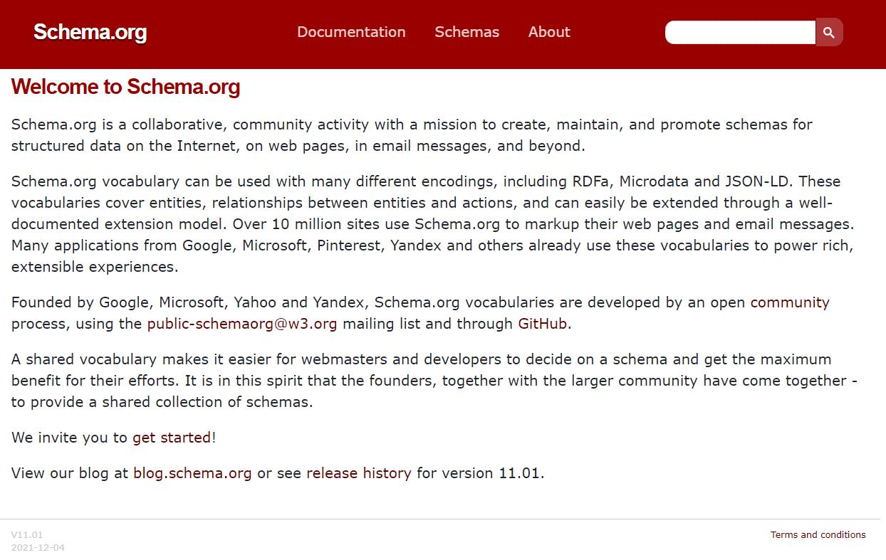 Schema (Yapısal Veri) Nedir?